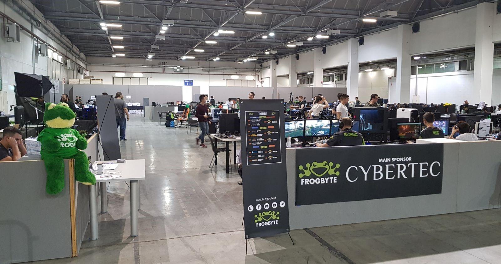 Frogbyte LAN Party 2018 Pordenone - Cybertec