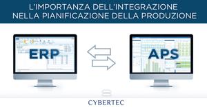 Integrazione tra ERP e APS - CyberPlan