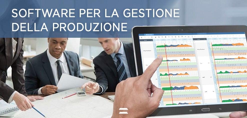 Software per la gestione della produzione - CyberPlan