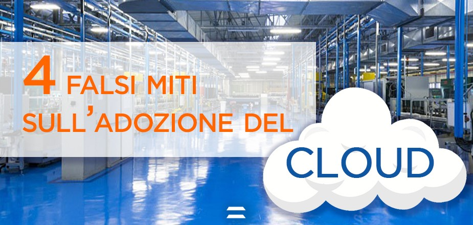 4 falsi miti sul cloud