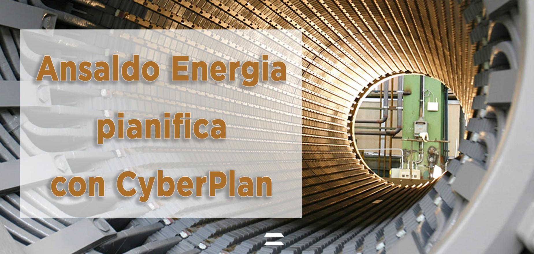 Ansaldo Energia - Generators Header Pianifica con CyberPlan Cybertec