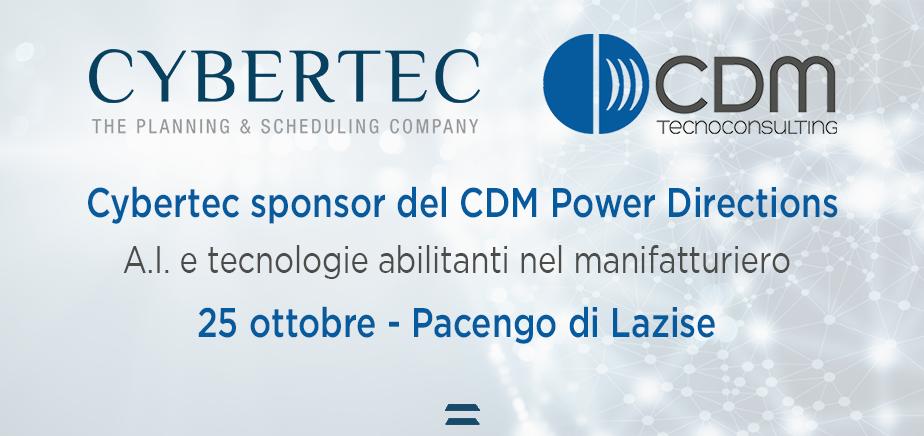CyberPlan Web al CDM Power Directions 2018