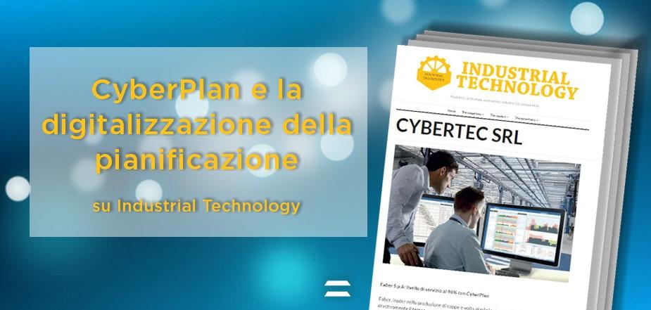 CyberPlan Cybertec su Industrial Technology