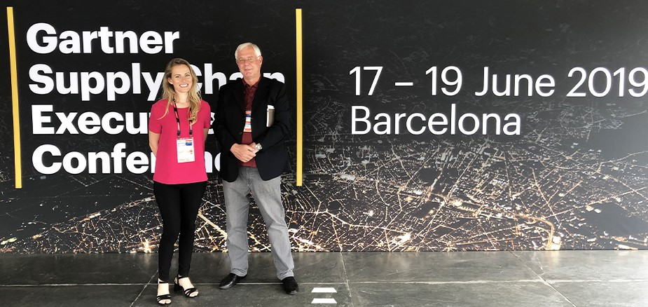 Cybertec con CyberPlan al Gartner Supply Chain Executive - Barcelona - 2019