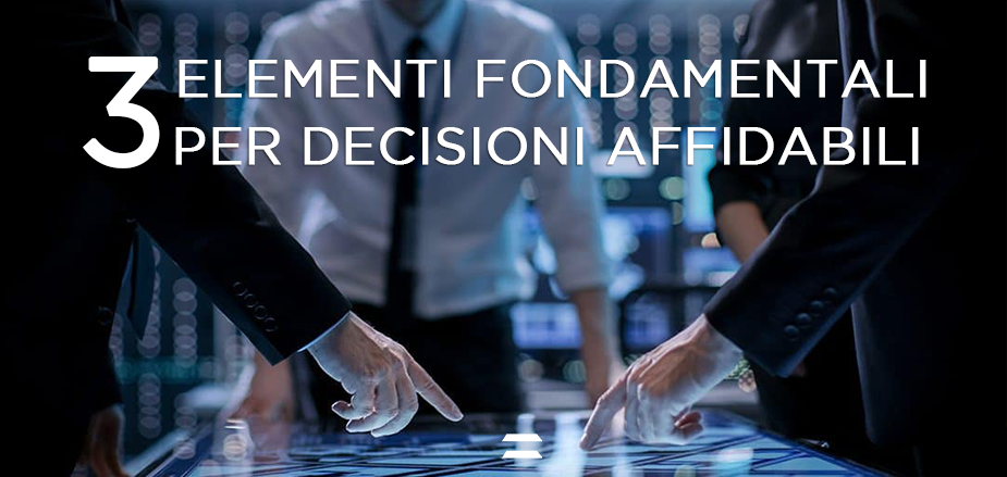 Decisioni affidabili supply chain