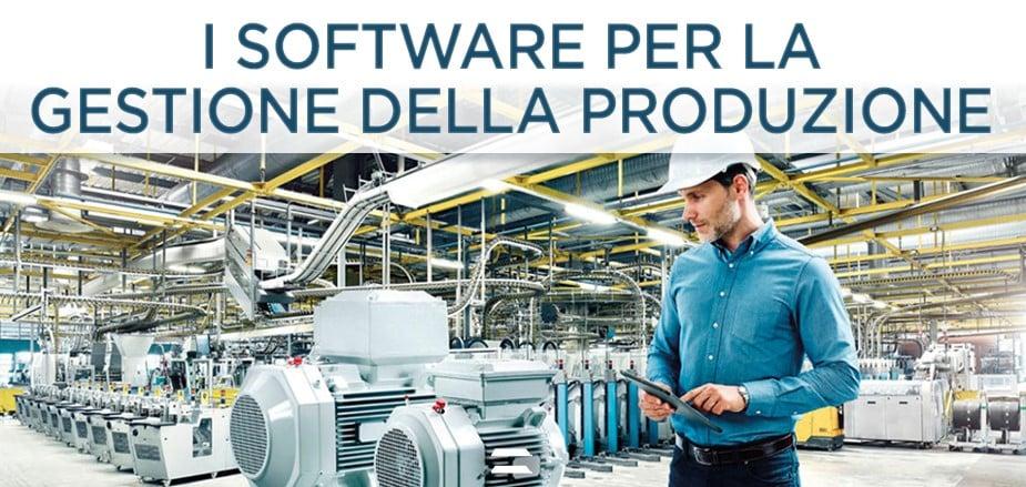 I software per la gestione della produzione