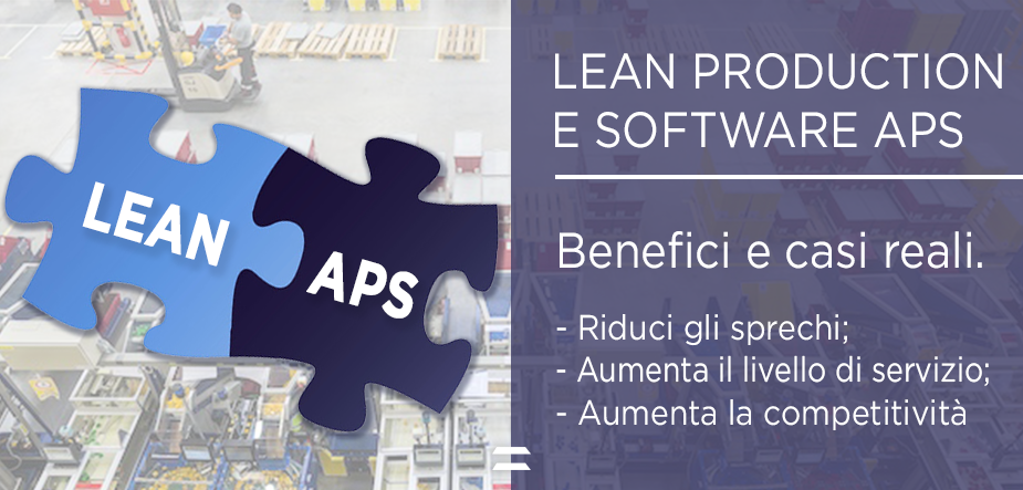 Lean manufacturing software APS