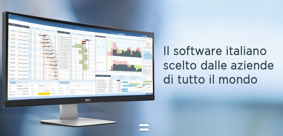 Software pianificazione schedulazione produzione CyberPlan