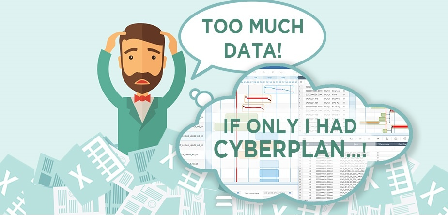 Too Much Data with the ERP - CyberPlan by Cybertec
