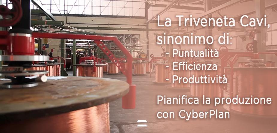 Triveneta Cavi Pianificazione Produzione CyberPlan Cybertec