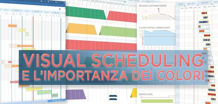 Visual Scheduling e L'importanza dei colori - CyberPlan Cybertec
