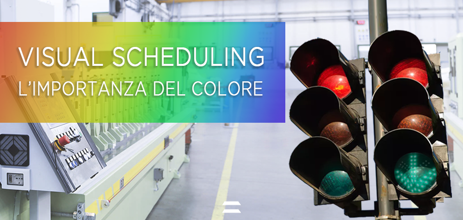 Visual scheduling colore