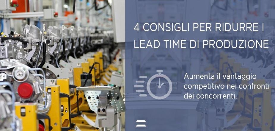 ridurre Lead time di produzione - Copia